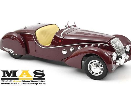 Peugeot 302 Darl'Mat Roadster 1937 Dunkel Rot Norev 1/18