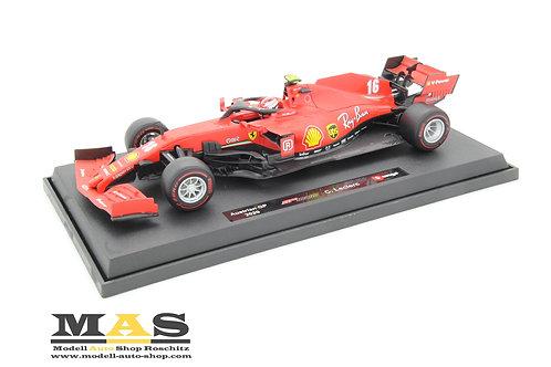 Ferrari SF1000 F1 C. Leclerc 2020 Bburago 1/18