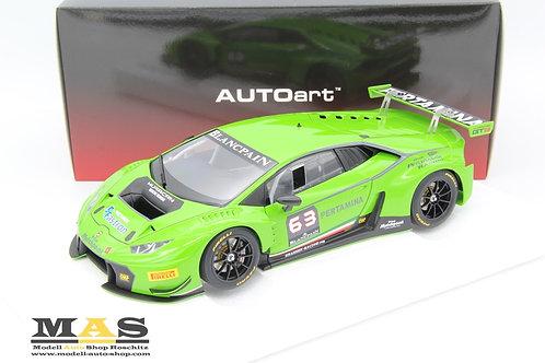 Lamborghini Huracan GT3 Grasser Racing 2015 Presentation Car Autoart 1/18