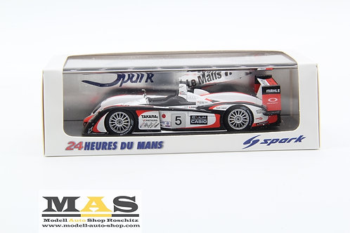Audi R8 Japan Team GOH 24h LeMans 2004 winner Kristensen Ara Capello Spark 1/43