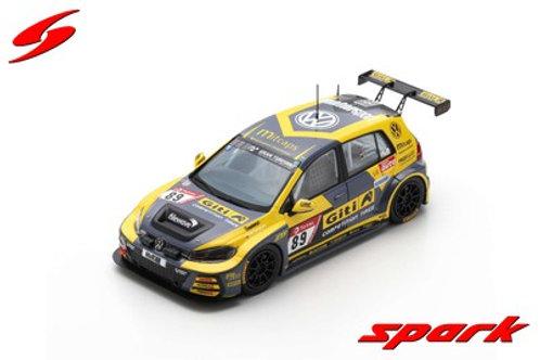 Volkswagen VW Golf 7 GTI No. 89 24h Nürburgring 2019 Spark 1/43