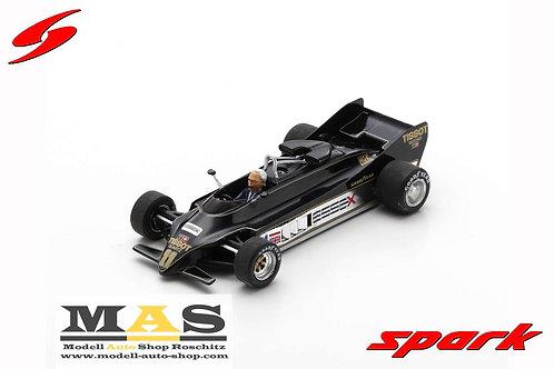 Lotus 88 No.11 Presentation Car 1981 C. Chapman Spark 1/43
