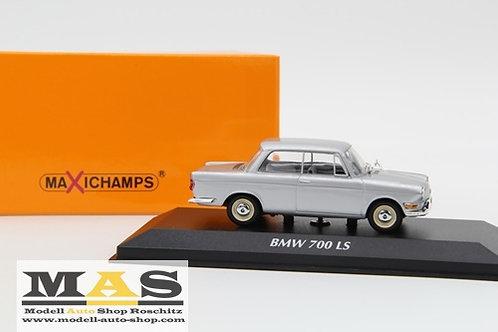BMW 700 LS 1960 Argento Minichamps 1/43