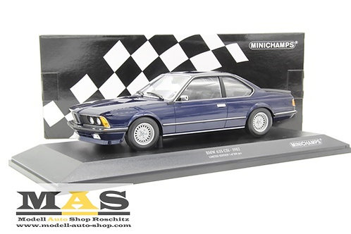 BMW 635 CSI 1982 blau Minichamps 1/18