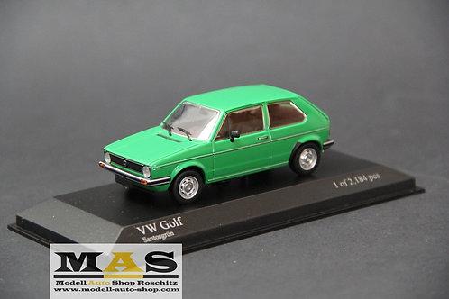 Volkswagen Golf 1 Santosgrün 1/43 Minichamps