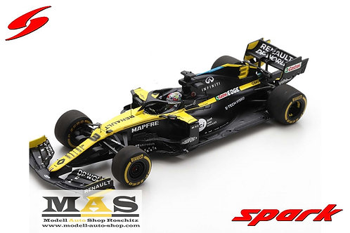 Renault RS20 D. Ricciardo Styrian GP 2020 Spark 1/43