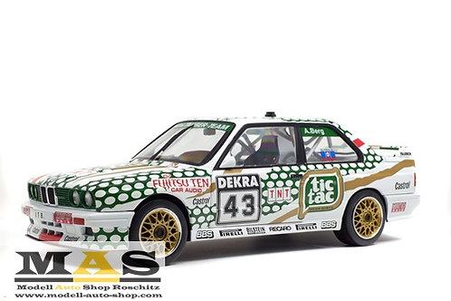 BMW E30 M3 #43 A. Berg DTM 1991 Solido 1/18