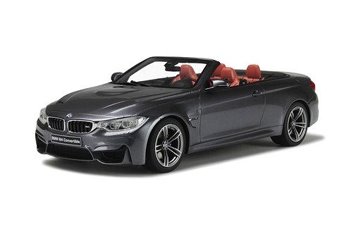 BMW M4 Cabriolet grau GT Spirit 1/18