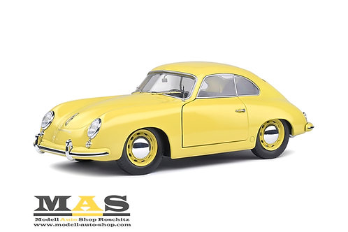 Porsche 356 Pre-A Coupe gelb Solido 1/18