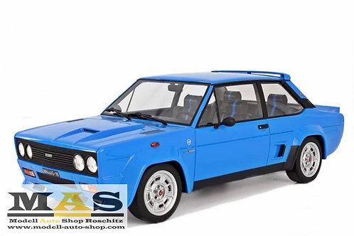 Fiat 131 Abarth Stradale 1976 blau Laudoracing 1/18
