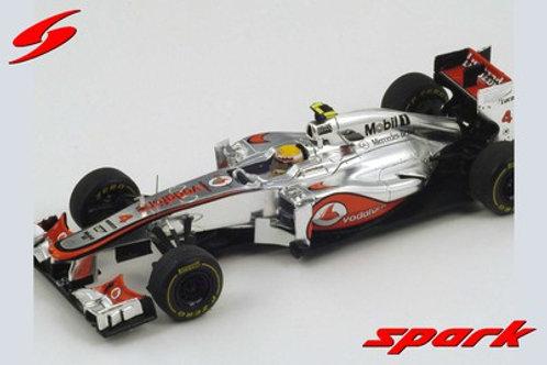 McLaren MP4/27 L. Hamilton Monte Carlo GP 2012 Spark 1/43