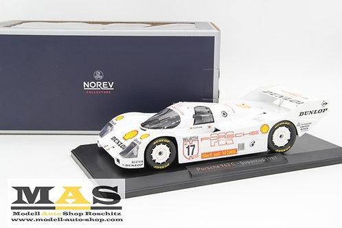 Porsche 962c HJ Stuck winner Supercup 1987 Norev 1/18
