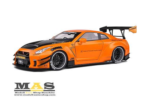 Nissan LB Works GT-R R35Type 2 orange metallic Solido 1/18