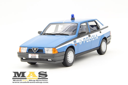 Alfa Romeo Alfa 75 1.8 IE 1988 Polizei Laudoracing 1/18