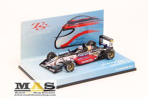 Dallara F301 T. Sato winner Macau GP 2001 Minichamps 1/43