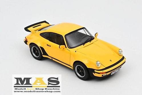 Porsche 911 turbo 3.0 1976 gelb Norev 1/18