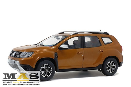 Dacia Duster MK2 2018 Orange Atacama Solido 1/18