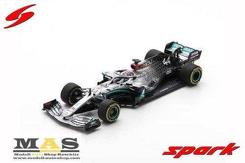 Mercedes Benz AMG  W11 L. Hamilton Test Barcelona Formel 1 2020 Spark 1/43