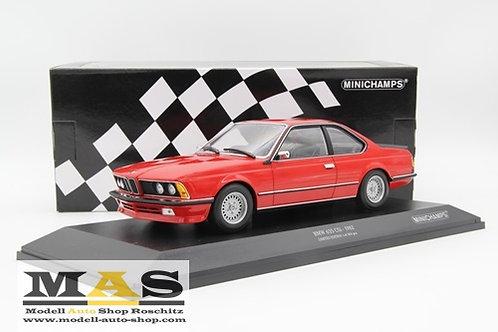 BMW 635 CSI 1982 rot Minichamps 1/18