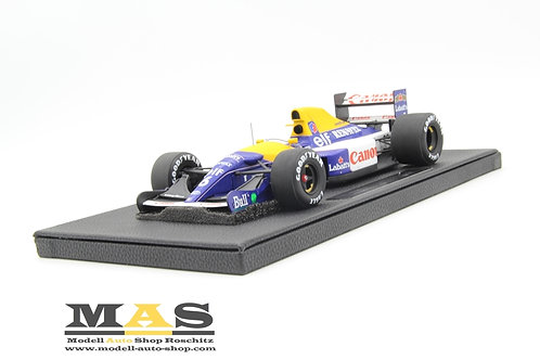 Williams FW14b No. 6 R. Patrese 1992 GP Replicas 1/18