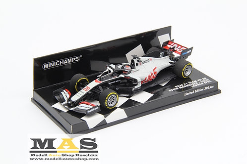 Haas F1 Team VF20 K. Magnussen Launch Spec 2020 Minichamps 1/43