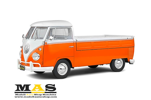 Volkswagen VW T1 Pick Up 1950 orange Solido 1/18