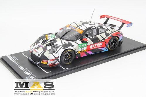 Porsche 911 991 GT3 R GT Masters 2018 Iron Racing J. Slooten, L. Luhr IXO 1/18