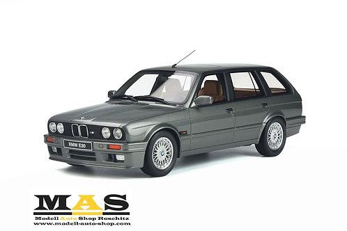 BMW E30 Touring 325I grau 1991 Otto Mobile 1/18