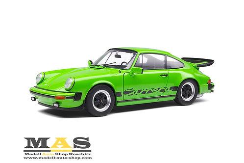 Porsche 911 930 Carrera 3.2 Coupe grün Solido 1/18