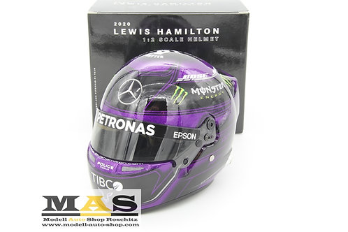 Lewis Hamilton Race Version (Purple) Mercedes 2020 Helm Bell 1/2