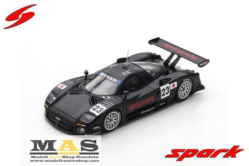 Nissan R390 GT1 Qualifikation 24h LeMans 1997 Spark 1/43