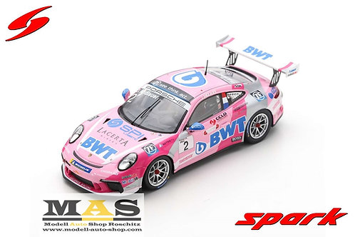 Porsche 911 GT3 Carrera Cup Champion 2019 Germany J. Andlauer Spark 1/43