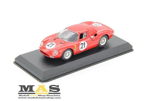Ferrari 250 LM 24h LeMans 1965 J. Rindt, M. Gregory Best 1/43