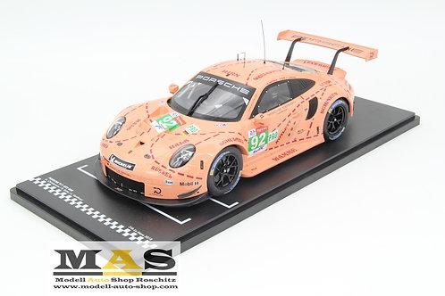 Porsche 911 (991) RSR winner 24h LeMans 2018 IXO 1/18