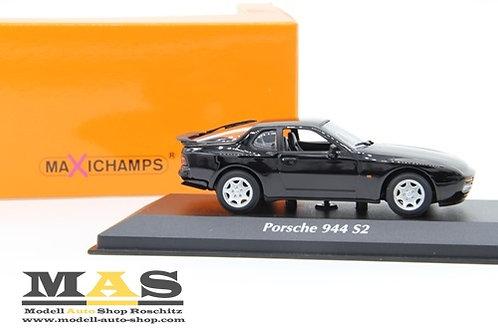 Porsche 944 S2 1989 nero Minichamps 1/43