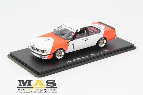 BMW 635 CSI #1 G. Berger Macau Guia Race 1985 Spark 1/43