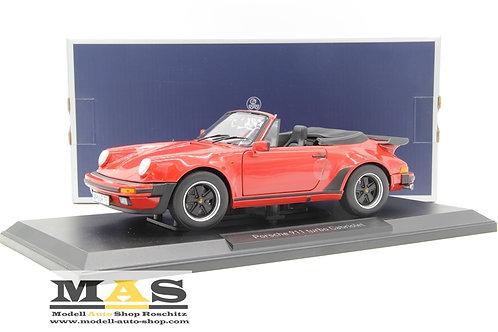 Porsche 911 Turbo Cabriolet - 1987 rot Norev 1/18
