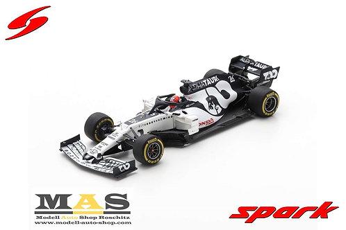 Alpha Tauri AT01 D. Kvyat Barcelona Test 2020 Spark 1/43