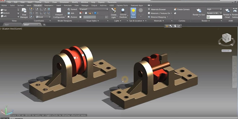 LEARN AUTOCAD ( Mechanical ) IN 2 DAYS