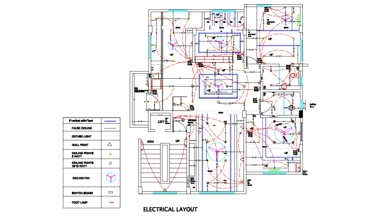 Architectural Drafting Floor Plan