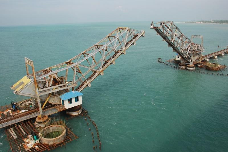 Opening of bridge