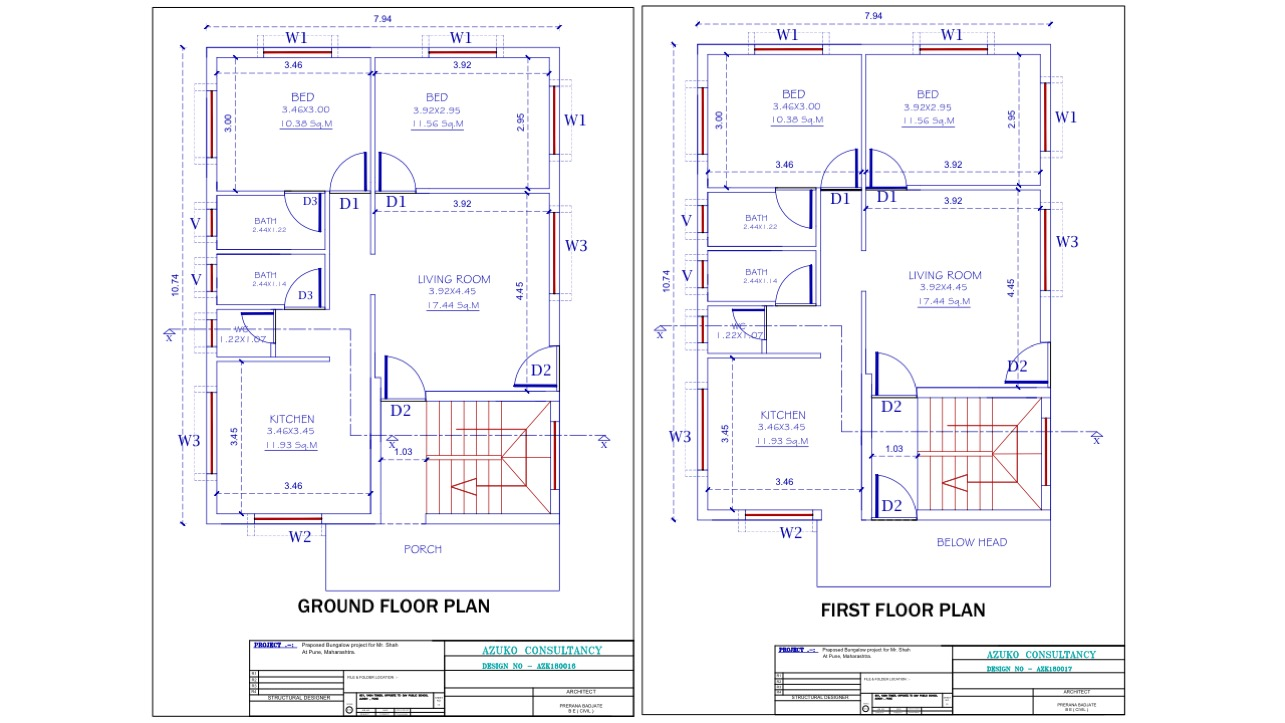 Architectural Drafting -Floor Plan
