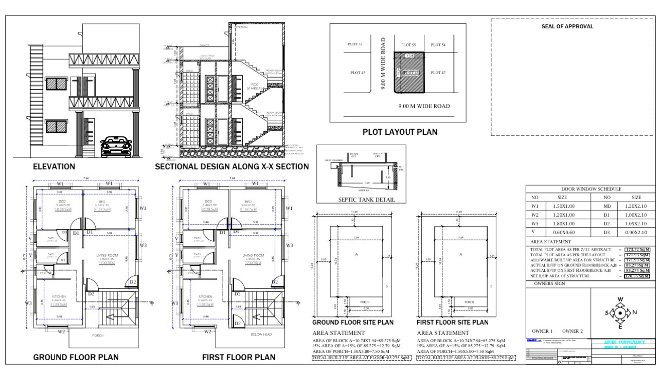 Architectural Drafting - Sanction