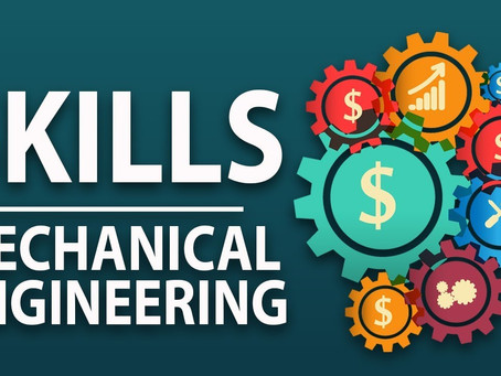What are some essential skills that a mechanical engineer should learn?