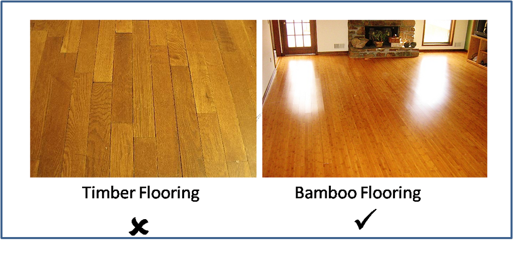 Timber Flooring v/s Bamboo Flooring