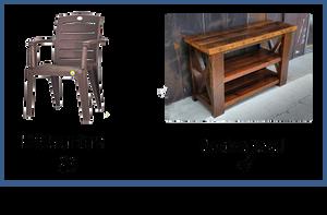 Plastic Furniture v/s Eco-friendly furniture