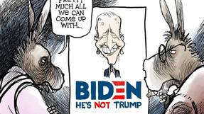 La campaña de Biden: enfermedad, depresión y discordia racial