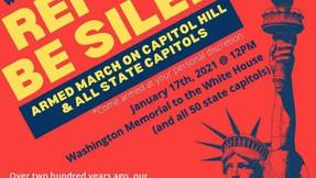 """¿Quién está detrás de la planificada """"Marcha armada en Capitol Hill"""" y es una conspiración..."""