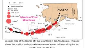GEÓLOGOS REVELAN QUE UN SUPERVOLCÁN PUEDE ACECHAR DEBAJO DE LAS ISLAS ALEUTIANAS DE ALASKA