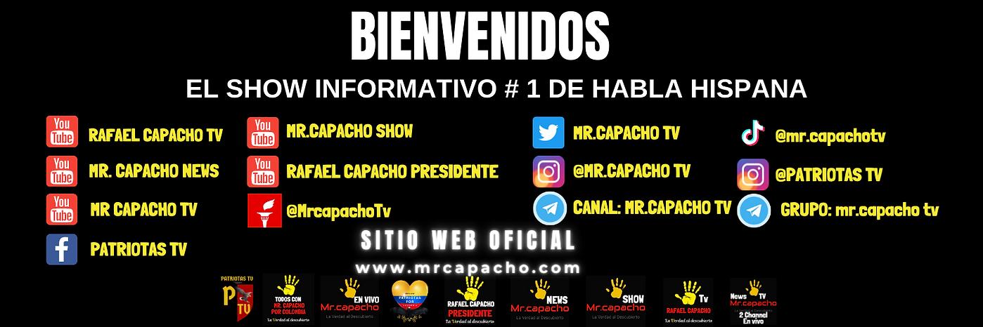 Copia de Copia de Mr.Capacho TV Mr.capacho 2 Channel (Portada para Facebook) (Portadas par
